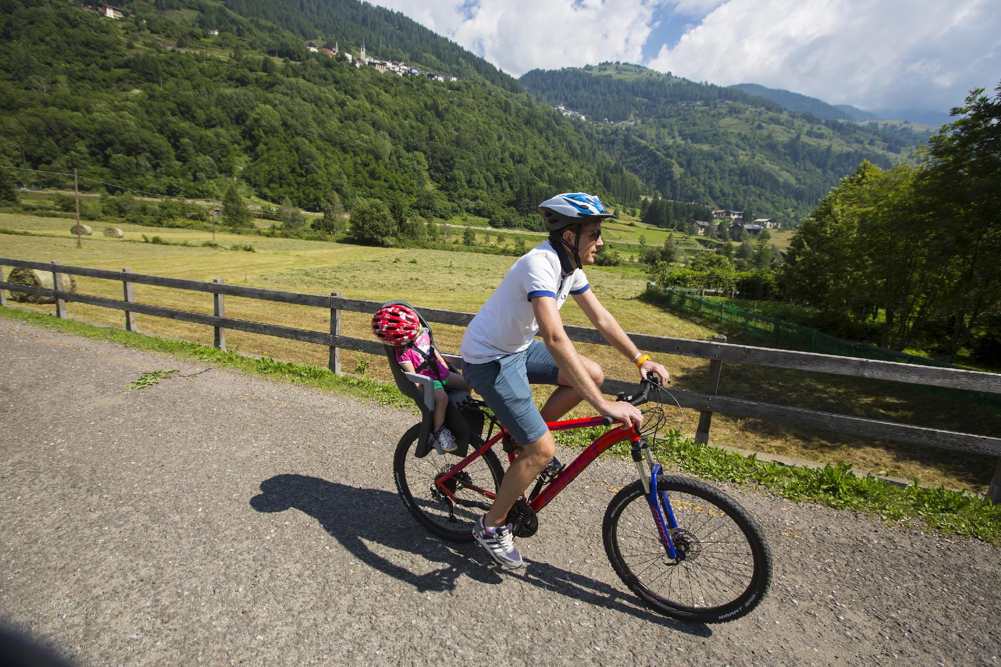 Family Bike sulla Pista Ciclabile